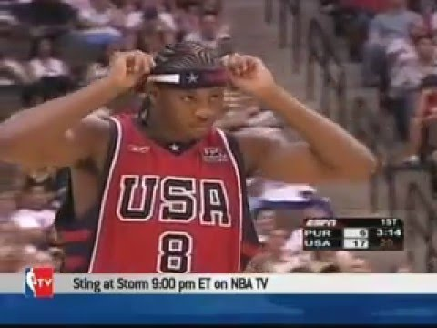 USA vs Puerto Rico 2004 Olympics Men