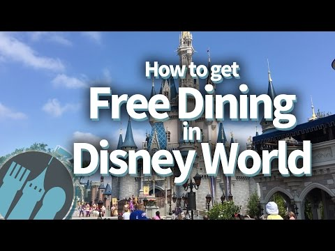How to get FREE DINING in Disney World!!