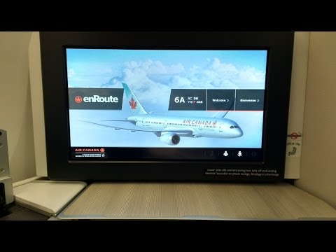 Dubai - Air Canada 787 Business Class from Toronto to Dubai (2/2)