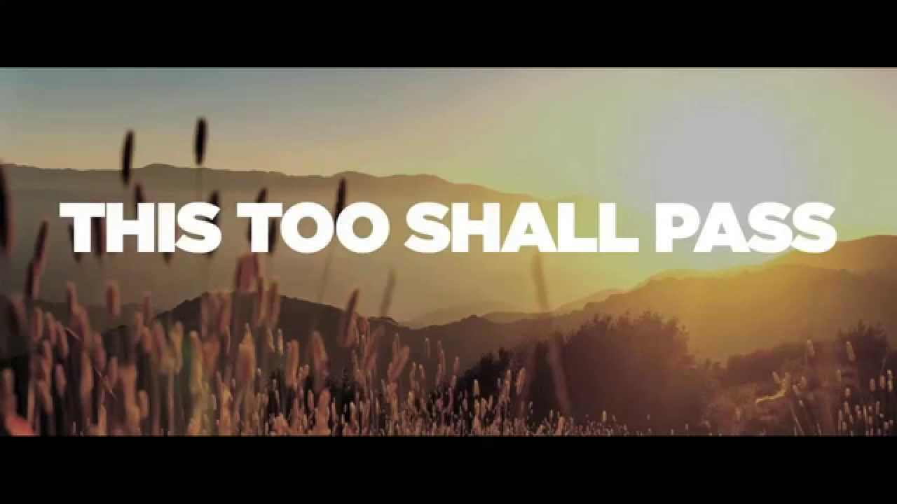 This Too Shall Pass (Lyric Video) - Five Times August - YouTube