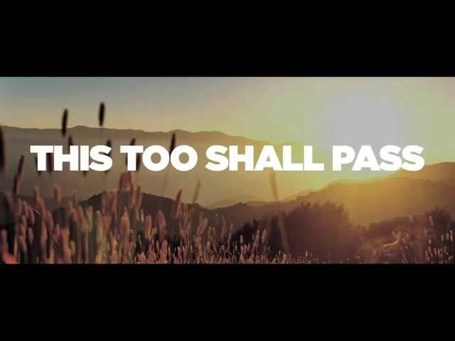This Too Shall Pass (NEW SINGLE!) Lyric Video - Five Times August