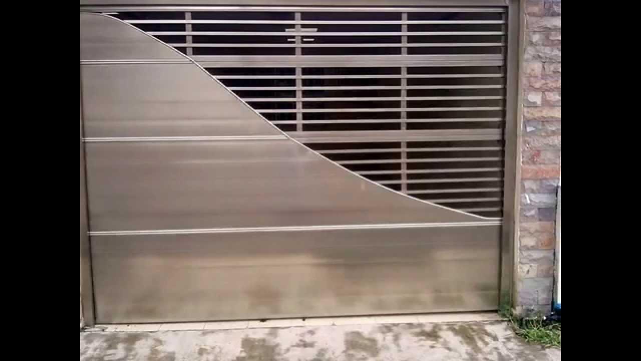 Modelos de puertas autom ticas puede verlos tambi n en - Puertas para cocheras electricas ...