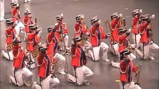2001香港音樂事務處步操管樂團比賽 釋慧文中學步操樂團
