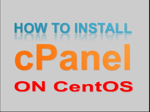 How to install and setup cpanel on a linux server step by step.