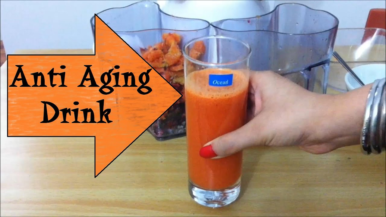 DIY Anti Ageing Drink Anti Aging Remedy homemade Natural ...
