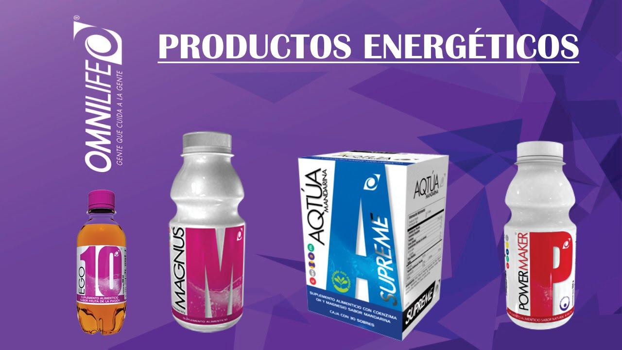 OMNILIFE PRODUCTOS ENERGÉTICOS OMNILIFE MAGNUS POWER MAKER