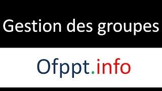 Commandes de base Linux Ep31 Gestion des goupes: useradd -g -G -aG groupadd groupmod groupdel