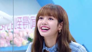 "YouthWithYou 青春有你2 Clip:  LISA became shy when asked about her bangs hair LISA被问""铁刘海""突然娇羞 