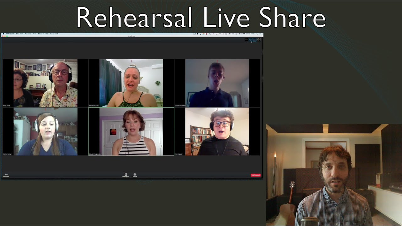Introducing Rehearsal Live Share (RLS) - Explanation and Guided Tour