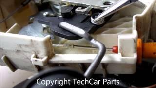 mercedes w169 w164 w245 door lock actuator repair
