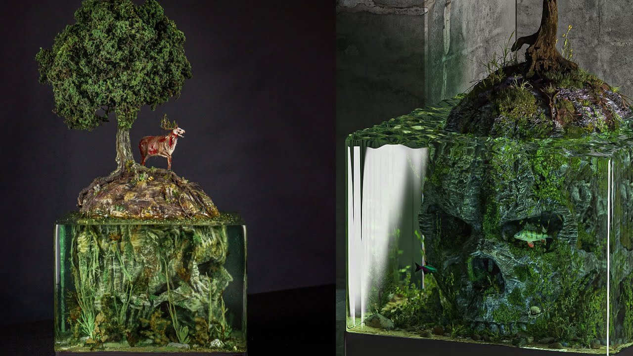 Skull Island / Insanely beautiful diorama / matrix will be the next