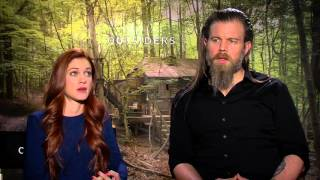 Outsiders Stars Ryan Hurst and Gillian Alexy on Season 1