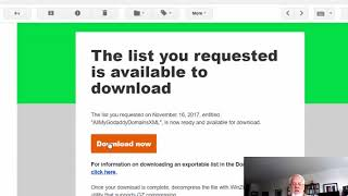 Download All Your GoDaddy Domains to SpreadSheet or XML