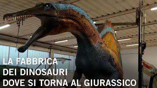 La fabbrica dei dinosauri dove si torna al giurassico