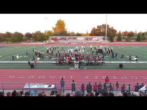 Antelope High School Titan Band & Guard @ Oakmont Field Festival of Music 10/13/18