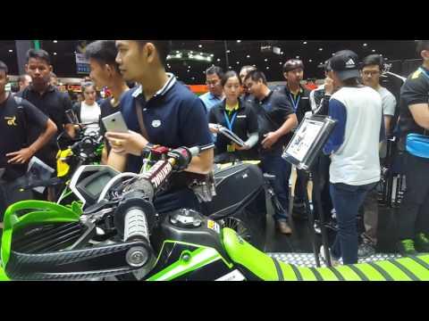 Motor Expo 2016 Thailand [EP18] Kawazaki Ninja H2, D-Tracker, Kawazaki Z125
