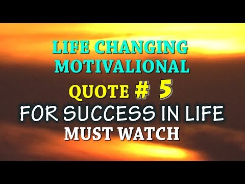 QUOTE#5 LIFE CHANGING AND MOTIVATIONAL QUOTES FOR SUCCESSFUL LIFE