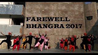 Farewell bhangra guru nanak public school pitampura new delhi 2017