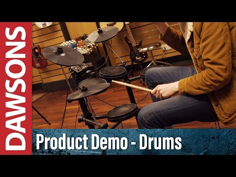 Aroma TDX-15 Electronic Drumkit Overview - YouTube