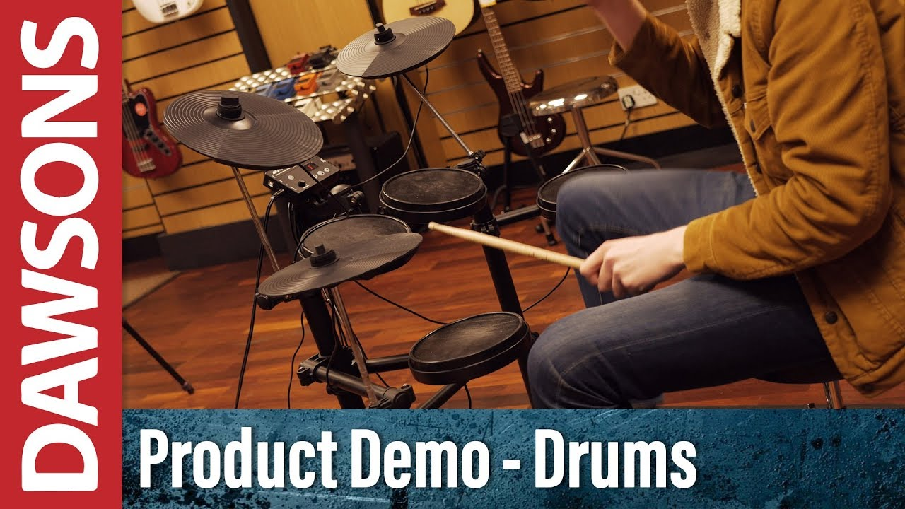 Aroma TDX-15 Electronic Drumkit Overview