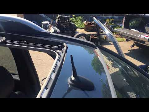 Leaking sunroof / moonroof ,how to fix