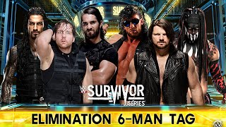 WWE 2K16 - The Shield vs Bullet Club Leaders (AJ Styles ,Omega ,Bálor) - Survivor Series (PS4)
