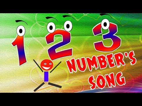 ★2 HOURS★ 123 Song - Learn Numbers In Less Than 2 Minutes | Nursey Rhymes For Kids