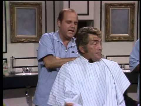 Dean Martin, Jack Benny, Dom DeLuise & Nipsey Russell  Barbershop Sketch
