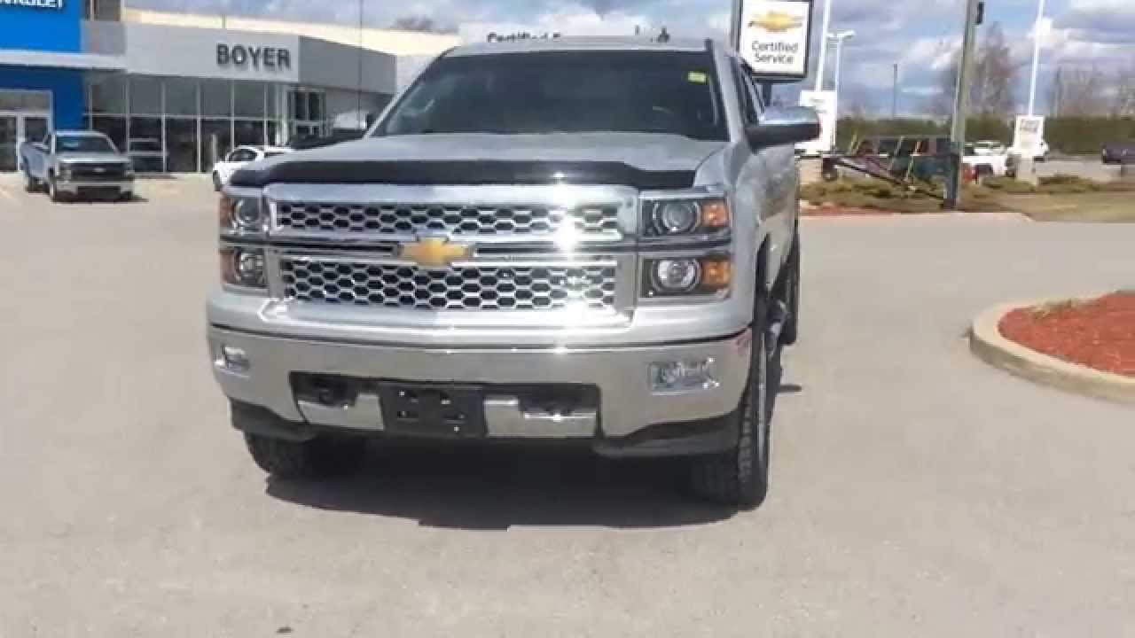 Used 2014 Chevrolet Silverado 1500 4x4 Ltz For Sale At Boyer Chevrolet Lindsay Review