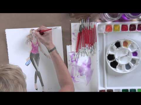 Fashion Illustration: How to Draw and Paint Figures