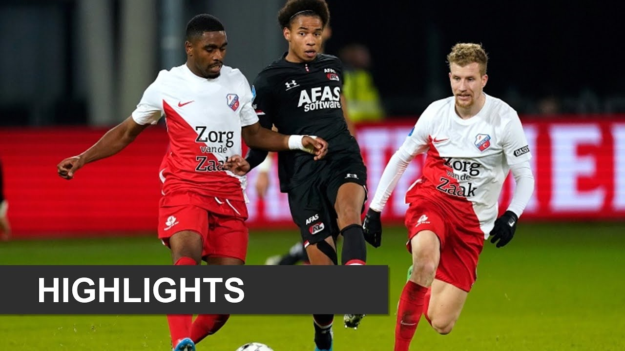 Highlights Fc Utrecht Az Eredivisie Youtube