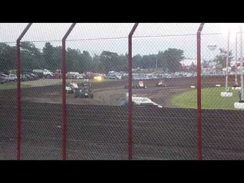 Gas City night one of sprint week 2013 #3