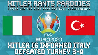 Hitler is informed Italy defeated Turkey 3-0