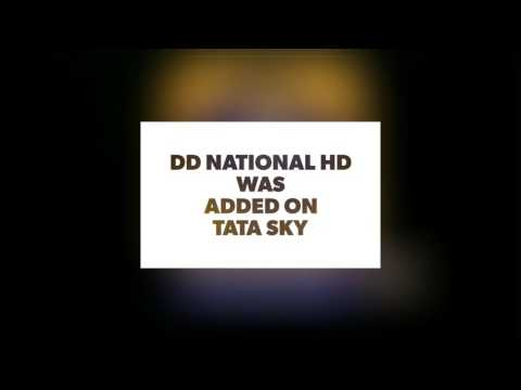 DD National HD - Channel added on TATA SKY