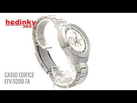 bc393e5f8 Casio Edifice EFV-520D-7A - YouTube