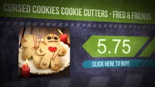 Cursed Cookies Cookie Cutters - Fred & Friends