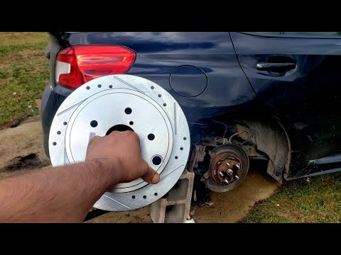 2015-2020 Subaru WRX Rear Brakes Pads & Rotors How to Replace *Detailed*