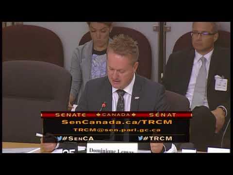 L'ACTU et Transdev Canada au Comité sénatorial des transports - véhicules autonomes