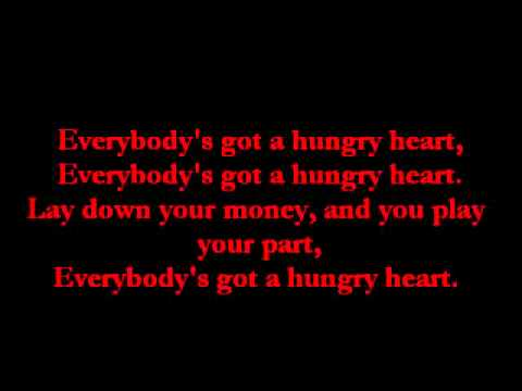 Bruce Springsteen~Hungry Heart lyrics
