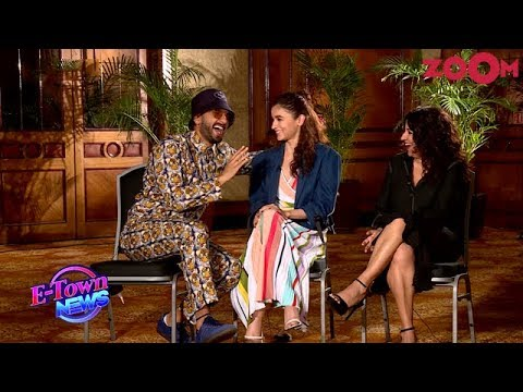 Ranveer Singh teases Alia Bhatt with Ranbir Kapoor by singing | Gully Boy | Full Interview Mp3