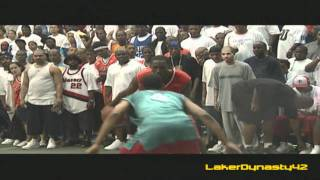 Kobe Bryant playing at Rucker Park (2002)