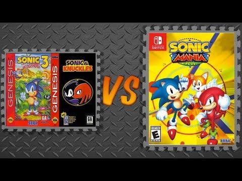 Sonic 3 & Knuckles vs. Sonic Mania Plus