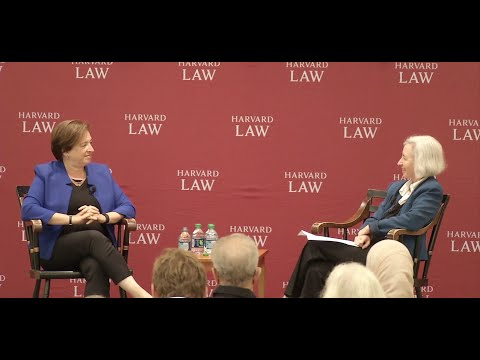 A Conversation with U.S. Supreme Court Justice Elena Kagan