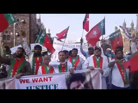 Social democratic party of India SDPI protest in Mumbai(1)