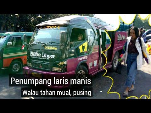 Seperti dikejar SETAN   Cadas Pangeran jd arena Balap ELF Po.Buhe Jaya (Bandung-Cikijing)