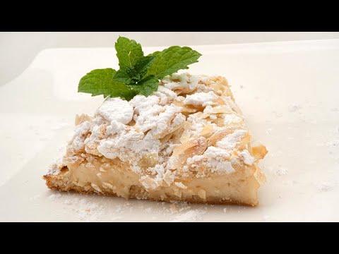 Pantxineta Pastel Típico Vasco De Hojaldre Crema Pastelera Y Almendras Receta De Eva Arguiñano Youtube