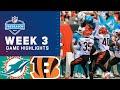 Miami Dolphins vs. Cincinnati Bengals   Preseason Week 3 2021 NFL Game Highlights