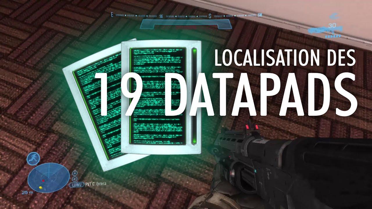 Halo: Reach - Emplacement des 19 Terminaux de données (Datapads) [Succès/Easter Eggs]