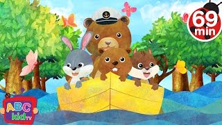 Row Row Row Your Boat| + More Nursery Rhymes & Kids Songs - ABCkidTV
