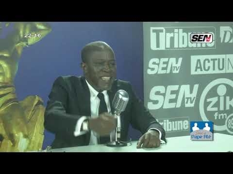 Yakham Mbaye vide son sac sur Sentv